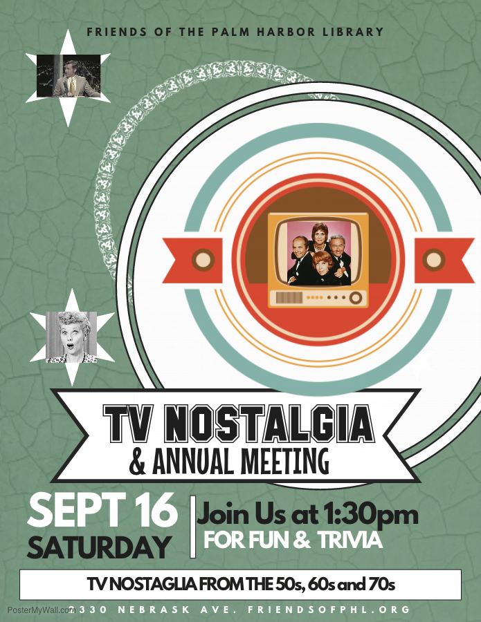 September 16 - TV Nostalgia and Annual Meeting